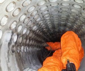 Borescoping boiler tubes